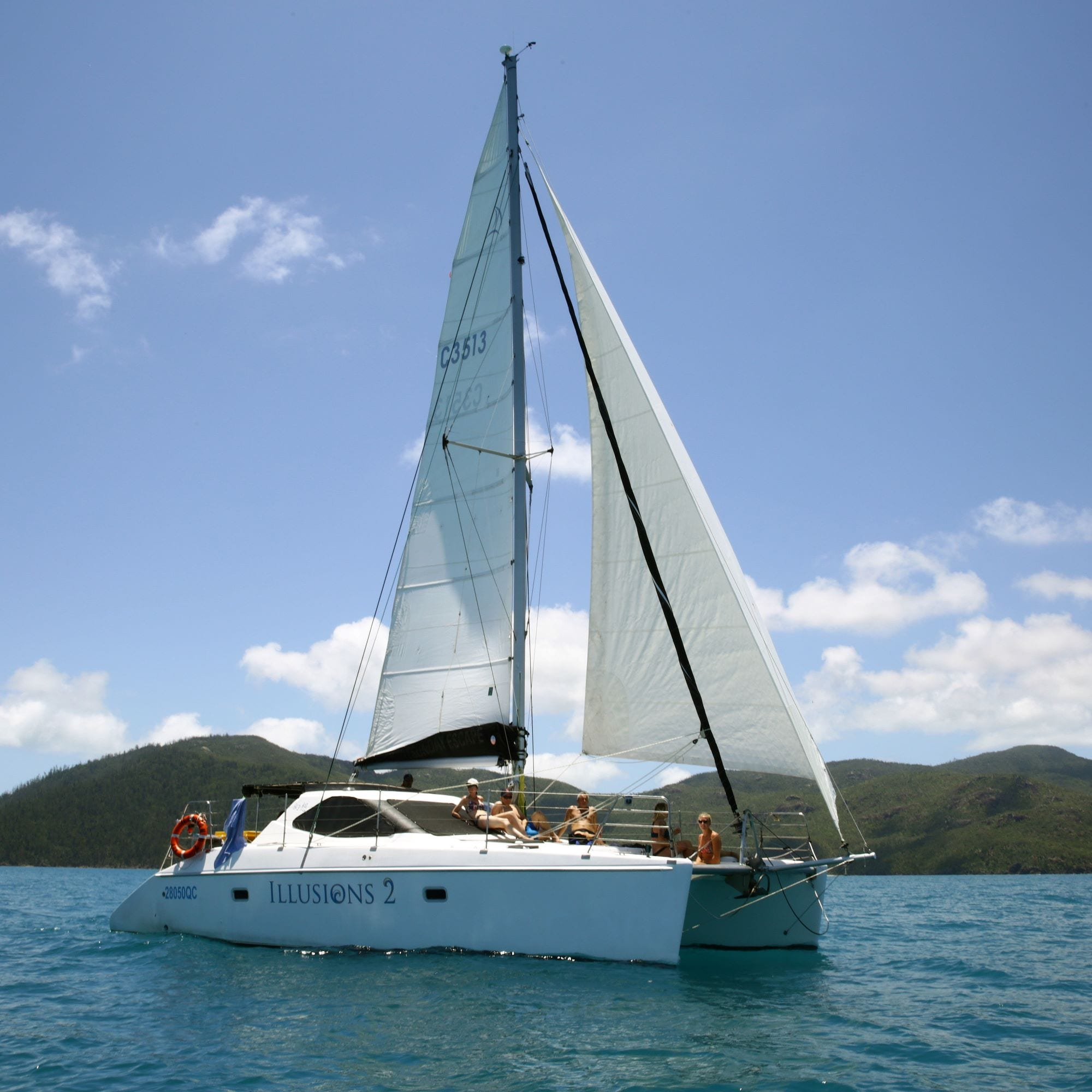 Whitsunday Day Sailing