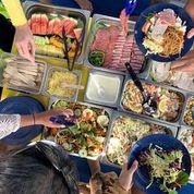 Ocean Rafting Tropical lunch