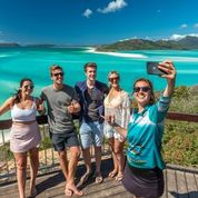 Ocean Rafting Souther Lights Hill Inlet lookout