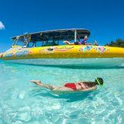 Ocean Rafting snorkelling in the Whitsundays