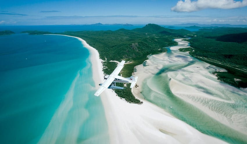 seaplane whitehaven beach tour