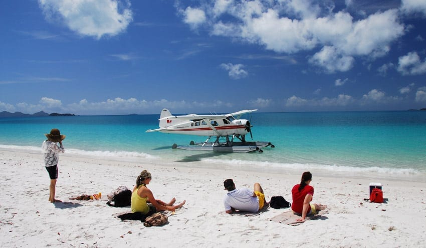 Seaplane Whitehaven Beach tour