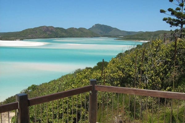 Hill Inlet lookout over Whitehaven Beach